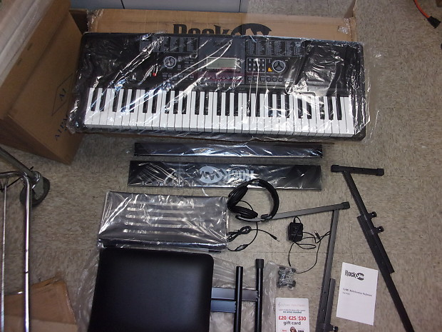7b756875d14 Rockjam 61 key RJ 561 keyboard record and playback 100 sounds | Reverb