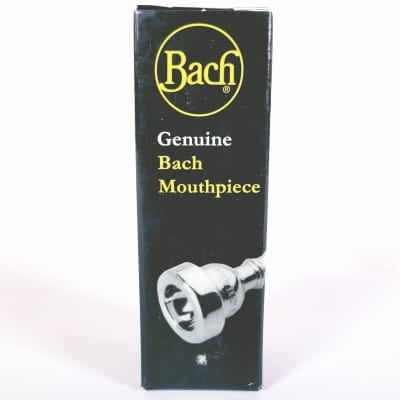 Bach 1780T1HC Custom 1 1/2C Rim A Cup Trumpet Mouthpiece with Gold Rim