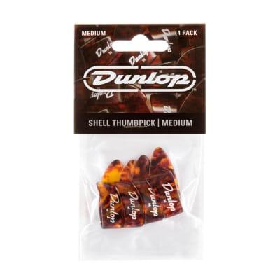 Dunlop 9022P Plastic Medium Banjo Thumbpicks (4-Pack)