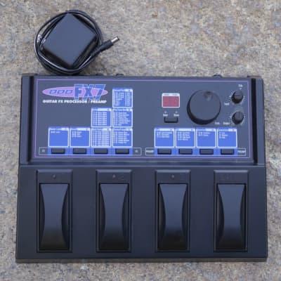 DOD FX7 Guitar Effects Processor/Preamp 1997 Black for sale