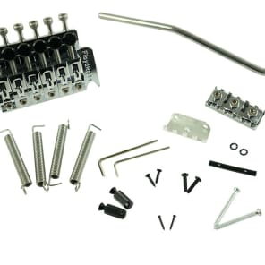 FLOYD ROSE GENUINE FLOYD ROSE HOT ROD Chrome  W/37MM BIG BLOCK AND STAINLESS HARDWARE R3 NUT