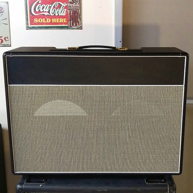 MojoTone British Bluesbreaker Style Guitar Amplifier 2x12 Combo Speaker  Cabinet 2015 Black