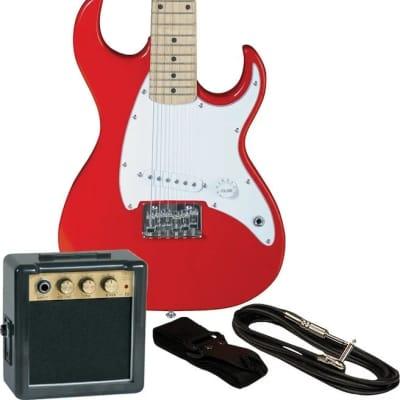 Mini Elect Gtr Pkg  Red for sale