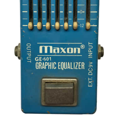 Maxon GE-601,Graph EQ, Narrow Box, Made in Japan, 1975, Vintage Guitar Effect Pedal for sale