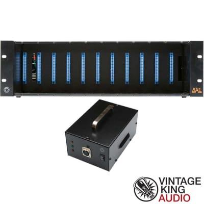 BAE Audio 11 Module 500 Series Rack Mount with Power Supply