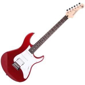 Yamaha PAC012 Pacifica Series HSS Electric Guitar Red Metallic