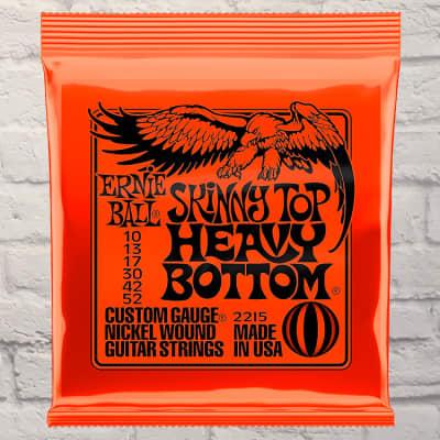 Ernie Ball Skinny Top Heavy Bottom Nickel Electric Guitar Strings 10-52