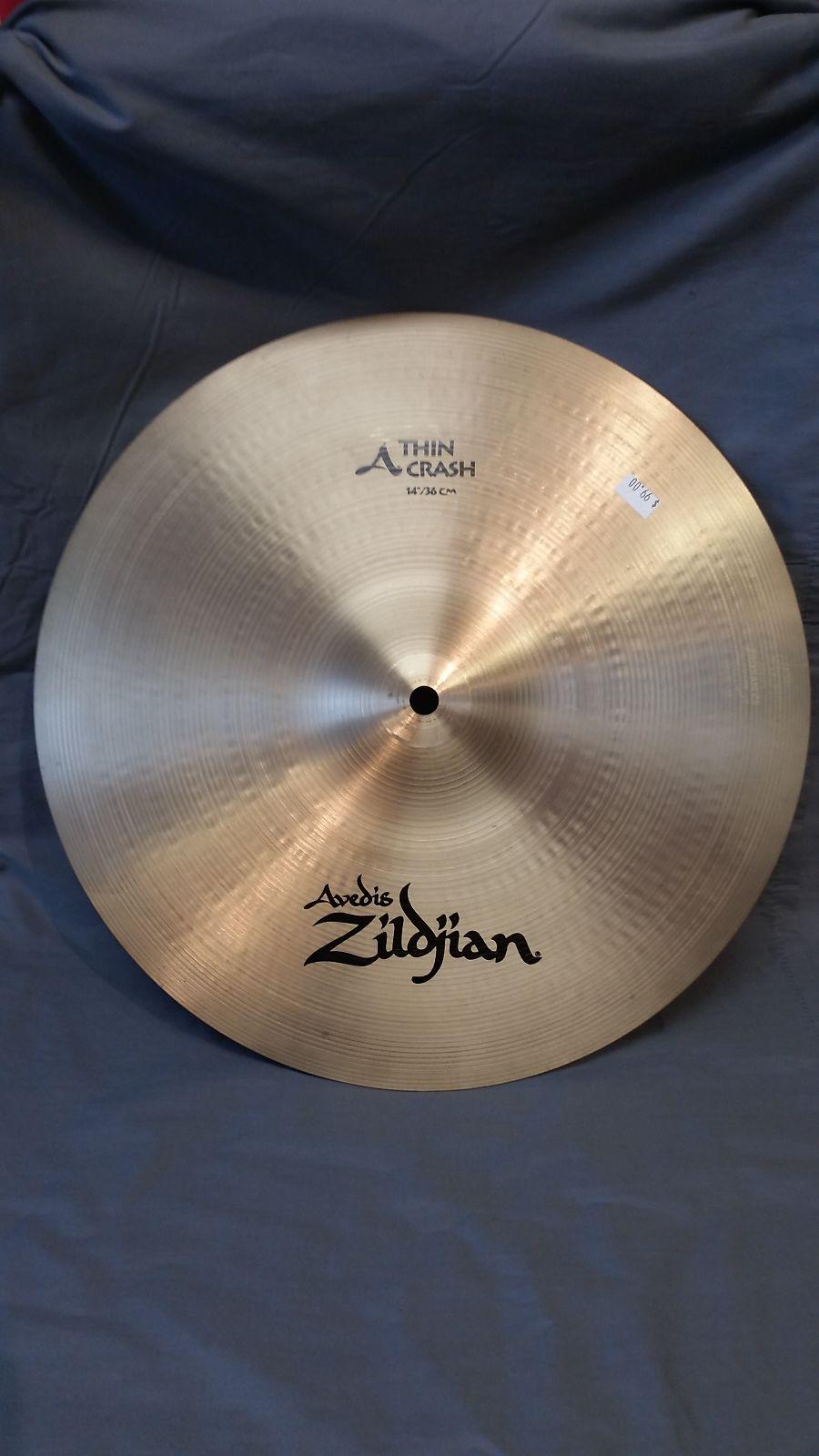 zildjian 14 a series thin crash cymbal reverb. Black Bedroom Furniture Sets. Home Design Ideas