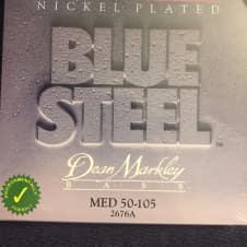Dean Markley Blue Steel NPS Bass Dean Markley Blue Steel Nickel Plated 2676A Medium 4
