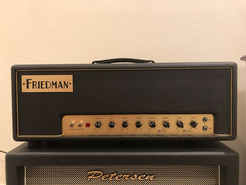 friedman small box 2 channel 50 watt guitar amp head reverb. Black Bedroom Furniture Sets. Home Design Ideas