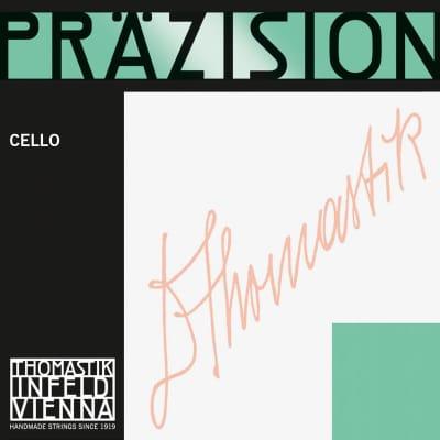 Thomastik-Infeld 807 Precision Chrome Wound Carbon Steel Core 3/4 Cello String - C (Medium)