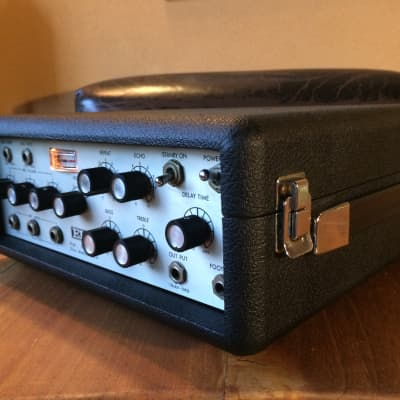 ELK EM-4 Professional ECHO machine , 1970s Black/Silver for sale