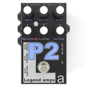 AMT Electronics Legend Amps P2 Distortion Black