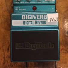 DigiTech DigiVerb Digital Reverb 2010s