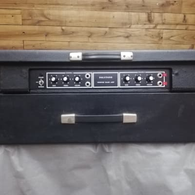 Polytone Custom amp bass  --- Black tolex for sale