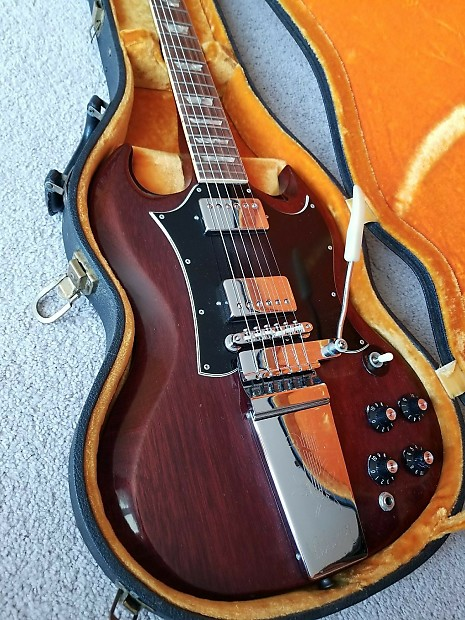 Gibson Vintage SG Standard 1969 Cherry | Acquire Guitars