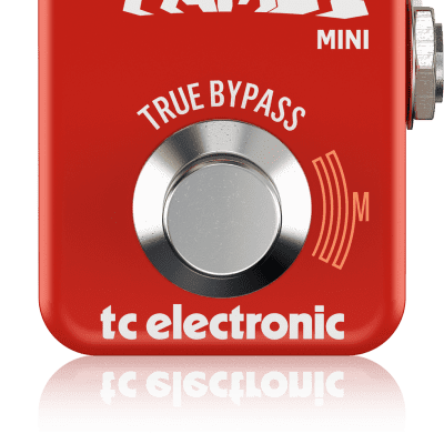 TC Electronic Hall of Fame HOF 2 Mini Reverb Effects Pedal with MASH Technology