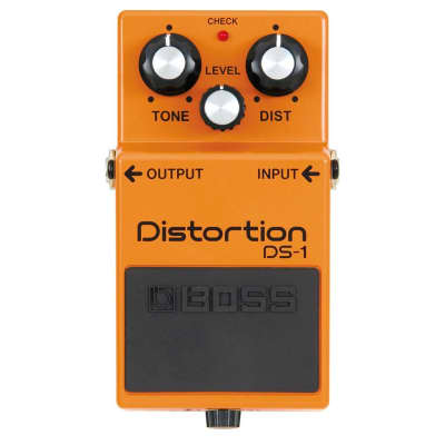 BOSS DS-1 Distortion Guitar Effects Pedal for sale
