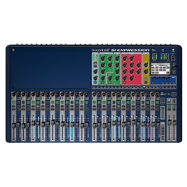 soundcraft si expression 3 digital mixer free 8 bk mic reverb. Black Bedroom Furniture Sets. Home Design Ideas