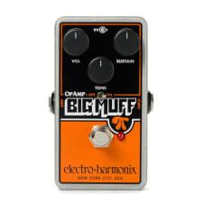 Electro Harmonix Op Amp Big Muff Pi Overdrive Effects Pedal
