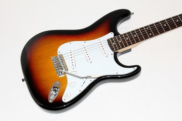 stadium new york pro sunburst electric guitar w gigbag reverb. Black Bedroom Furniture Sets. Home Design Ideas