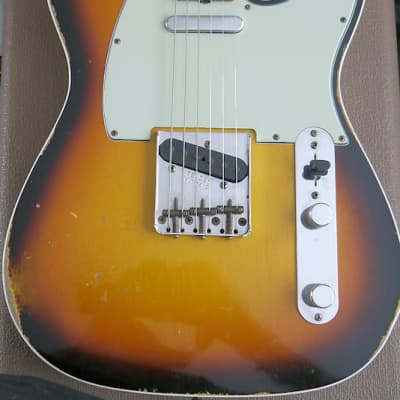 Fender USA Custom Shop Time Machine Series '62 Telecaster Custom 2015, 3 tone sunburst for sale