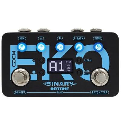 HOTONE BINARY EKO CDCM Delay Guitar USB FX Pedal for sale