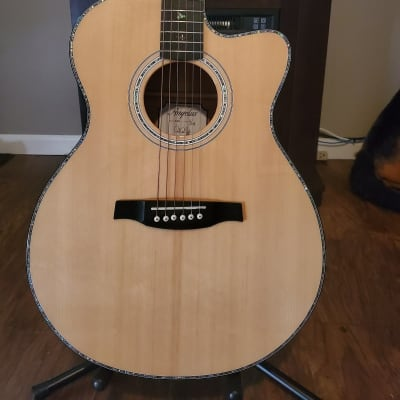 Paul Reed Smith SE A50E Solid Spruce/Maple Angelus Cutaway with Fishman GT1 Electronics Natural 2018 for sale