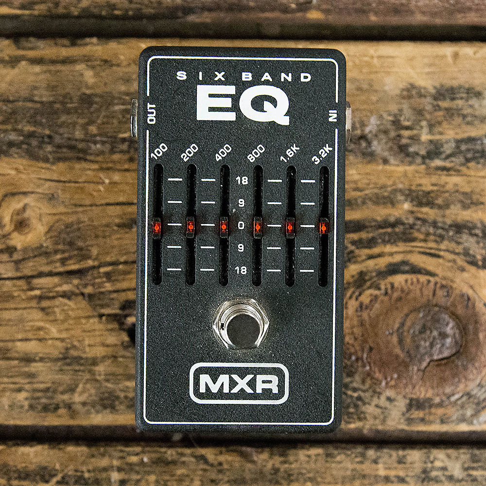 mxr 6 band graphic eq m109 reverb. Black Bedroom Furniture Sets. Home Design Ideas