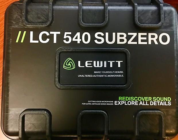 Lewitt LCT 540 Subzero Microphone/ Authorized LEWITT Dealer & come w/ FULL  Warranty!