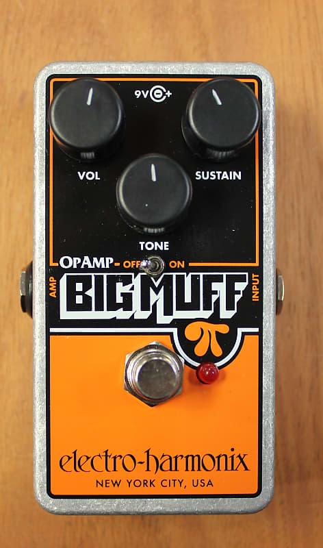 electro harmonix op amp big muff pi fuzz effects pedal reverb. Black Bedroom Furniture Sets. Home Design Ideas