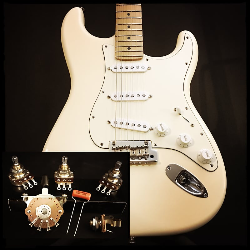 Sidewinder Guitars Stratocaster Wiring Kit on