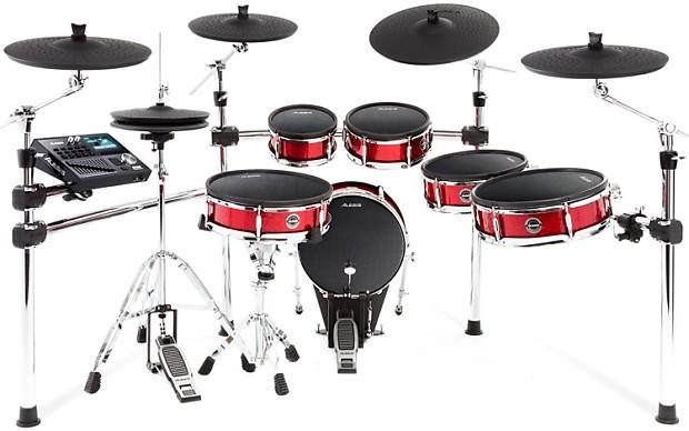 alesis strike pro electronic drum set gearnuts reverb. Black Bedroom Furniture Sets. Home Design Ideas