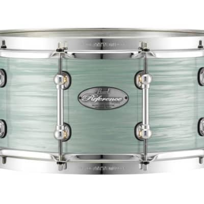 """Pearl Music City Custom Reference Pure 13""""x6.5"""" Snare Drum ICE BLUE OYSTER RFP1365S/C414"""