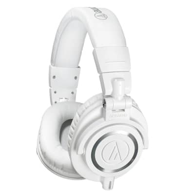 Audio Technica ATH-M50xWH Monitor Headphones