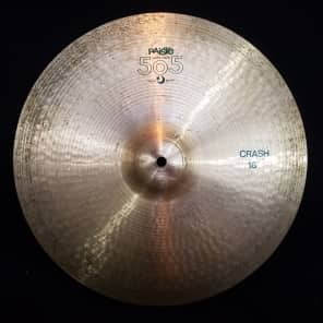 "Paiste 18"" 505 ""Green Label"" Crash Cymbal"