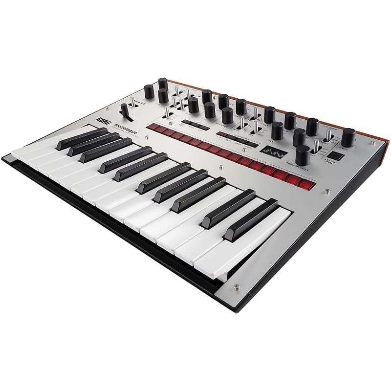 korg monologue analog synthesizer silver zzounds reverb. Black Bedroom Furniture Sets. Home Design Ideas