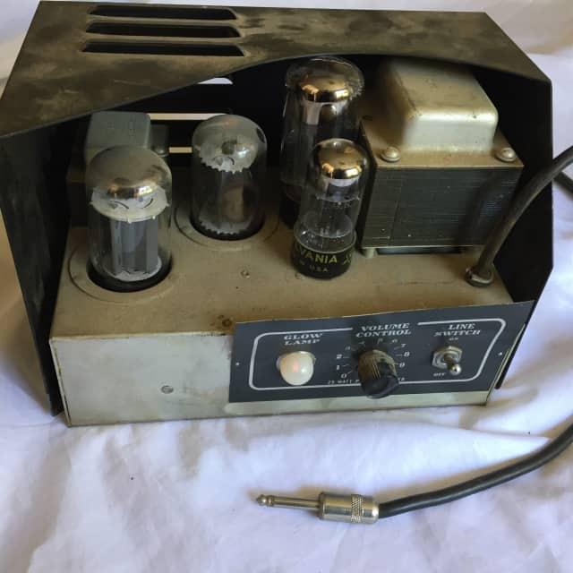 Vintage Filmosound 22 Watt 6V6 Tube Amp Schumacher Transformer  Guitar Small Amp Conversion Project image