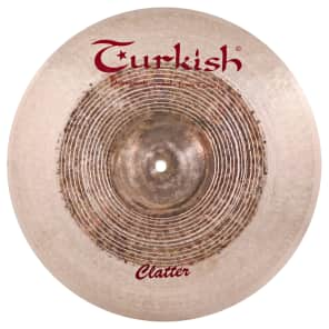 "Turkish Cymbals 18"" Effects Series Clatter Crash CT-C18"