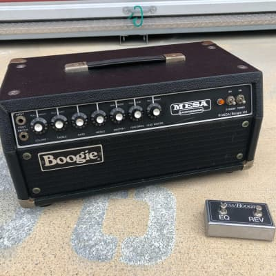 Mesa Boogie Mark II pre-owned vintage 1980 tube amp head MK2 w/footswitch
