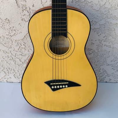 Dean Playmate Mini Acoustic Guitar, 1/2-Size  3/4 Size Guitar with Soft Case, Child's Guitar for sale