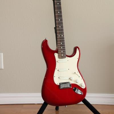 Fender Strat Plus 1995 Red for sale