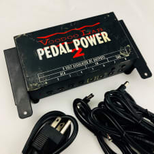 Voodoo Lab Pedal Power 2 w/ 8 Cables, Rack mounts, and Power Cable
