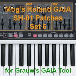 Mog's Roland GAIA Patches - Set 6