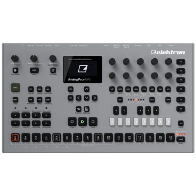 Elektron Analog Four MKII: 4-voice analog desktop synthesizer and CV sequencer