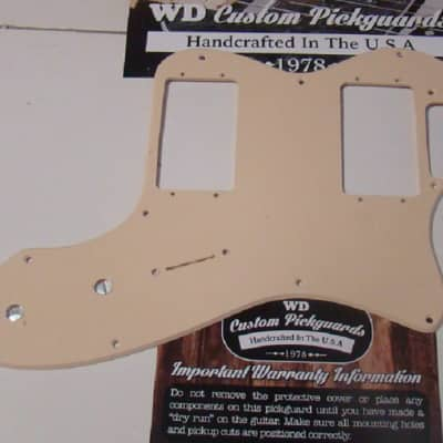 Replacement Pickguard for FenderTelecaster® Thinline® Solid Cream
