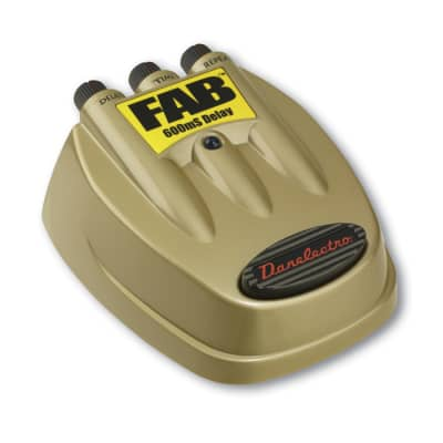 Pedal Effect Danelectro D-8 FAB Delay 600ms Pedal for sale