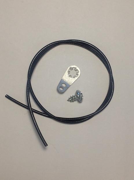 Guitar Cavity Shielding Ground Lug with Screw and Ground Wire | Reverb