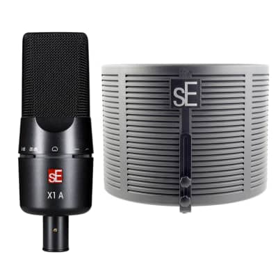 SeElectronics X1A w RFX Bundle Condenser Microphone with Reflexion Filter