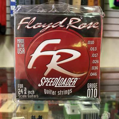 Floyd Rose Speedloader 9-46 Light Top/Heavy bottom Strings 2002 Red for sale